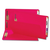 Smead End Tab Fastener File Folder, Shelf-Master, Legal, Red 50/Bx (28740)
