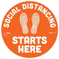 Social Distancing Floor Sticker 29001