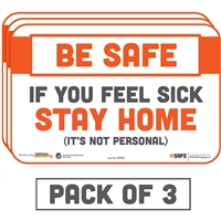 If You Feel Sick Stay Home Sticker 29052