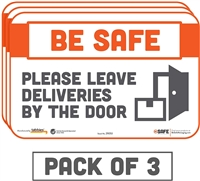 Please Leave Deliveries By The Door 29053
