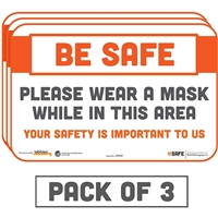 Please Wear a Mask While In This Area 29059