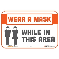 Wear a Mask While In This Area 29061