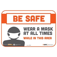 Wear a Mask At All Times While In This Area 29062