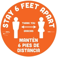 Social Distancing Floor Sticker 29302