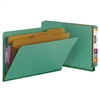 Smead End Tab Pressboard Classification Folder with SafeSHIELD 10/Bx (29785)