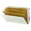 Smead End Tab Pressboard Classification Folder with SafeSHIELD 10/Bx (29820)