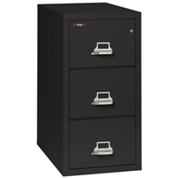 Classic FireKing 3-Drawer Vertical File Cabinet