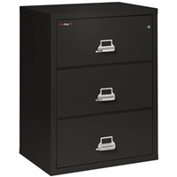 FireKing 3-Drawer 31-In Wide Lateral File Cabinet