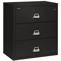 FireKing 3-Drawer 38-In Wide Lateral File Cabinet