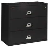 FireKing 3-Drawer 44-In Wide Lateral File Cabinet