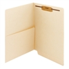 Smead End Tab Pocket Folder with Fastener, Straight-Cut Tab, 50/Bx (34100)