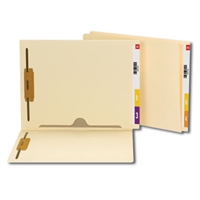 Smead End Tab Fastener File Folder with Full Pocket, Manila 50/Bx (34101)
