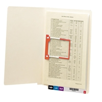 Smead End Tab Fastener File Folder, Shelf-Master, Letter 50/Bx (34112)