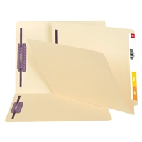 Smead End Tab File Folder with SafeSHIELD Fasteners 50/Bx (34117)