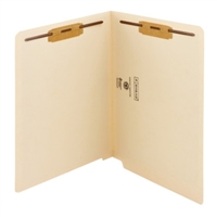 Smead End Tab 100% Recycled Fastener File Folder, 2 Fasteners (34160)
