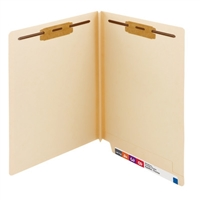 Smead End Tab Fastener File Folder, Shelf-Master Straight-Cut 50/Bx (34276)
