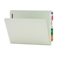 Smead End Tab Pressboard Fastener Folder w/ SafeSHIELD Fastener 25/Bx (34705)