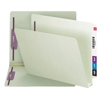 Smead End Tab Pressboard Fastener Folder w/ SafeSHIELD Fastener 25/Bx (34715)