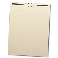 "Smead Manila File Backs with 2"" Fastener, Letter Size, Manila (35511)"