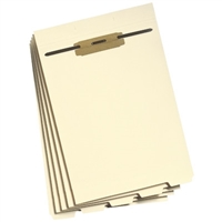 Smead Folder Divider with Fastener, Bottom 1/5-Cut Tab, Letter (35600)