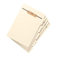 Smead Folder Divider with Fastener, Side 1/5-Cut Tab, Letter (35605)