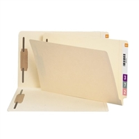 Smead End Tab 100% Recycled Fastener Folder, Legal, Manila 50/Bx (37160)