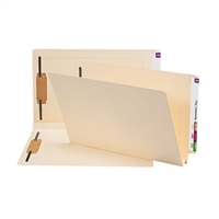 Smead End Tab Fastener File Folder, Shelf-Master Straight-Cut 50/Bx (37276)