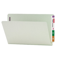 Smead End Tab Pressboard Fastener Folder w/ SafeSHIELD Fastener 25/Bx (37705)