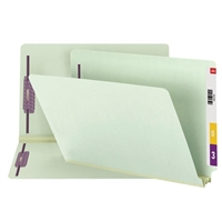 Smead End Tab Pressboard Fastener Folder w/ SafeSHIELD Fastener 25/Bx (37715)