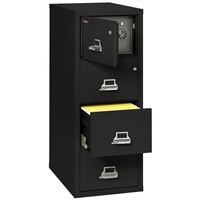 FireKing 4-Drawer Safe-In-A-File Filing Cabinet