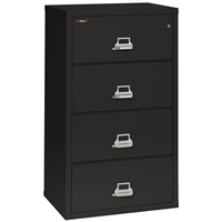 FireKing 4-Drawer 31-In Wide Lateral File Cabinet