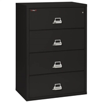 FireKing 4-Drawer 38-In Wide Lateral File Cabinet