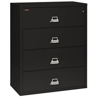 FireKing 4-Drawer 44-In Wide Lateral File Cabinet