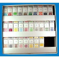 Col'R'Tab Labels 12000 Series Match A-Z Set 500/Roll
