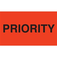 Priority Label 43573 (500/Roll)