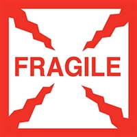 Fragile Label 43577 (500/Roll)
