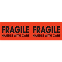 Fragile Handle with Care Label 43578 (250/Roll)
