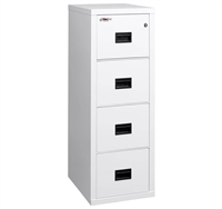 Turtle 4 Drawer 22 Inch Letter File Cabinet (4R1822-C)