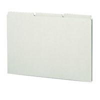 Smead Pressboard Guides, Plain 1/3-Cut Tab (Blank), Legal (52334)