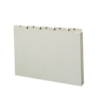 Smead Pressboard Guides, Plain 1/5-Cut Tab, Daily (1-31), Legal (52369)