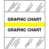 Medical Chart Index Tabs, Graphic Chart, Yellow, 1/2 x 1-1/4, 100/Pk (54557)