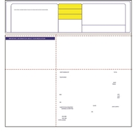 "Pharmacy Label Form, Pharmacy Forms - QS/1 9-3-32"", 1000/Case, 59976"