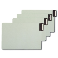 Smead End Tab 100% Recy Pressboard Guides, Vertical Metal Tab (63235)