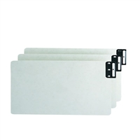 Smead End Tab 100% Recycled Pressboard Guides, Vertical (A-Z) (63276)