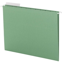 Smead Green Hanging Folders with 1/3-Cut tabs (64022) Box of 25