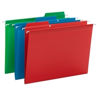Smead Poly FasTab Hanging Folders 18/Box (64028)