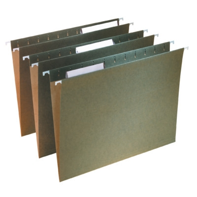 Hanging File Folder with Tab, 1/3-Cut Adjustable Tab (64039)