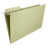 Smead FasTab Hanging Folders, Legal, Moss, 20/Box (64083)