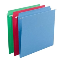 Assorted FasTab Straight-Cut Hanging Folders (64100)