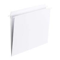 White FasTab Straight-Cut Hanging Folders (64102)